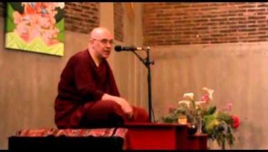 """""""El Refugio"""": charla del Dhamma por el Ven. Bhikkhu Nandisena"""